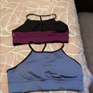 2 Lucy sports bras